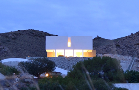 A Minimal Holiday House With Views Of The Mediterranean Sea