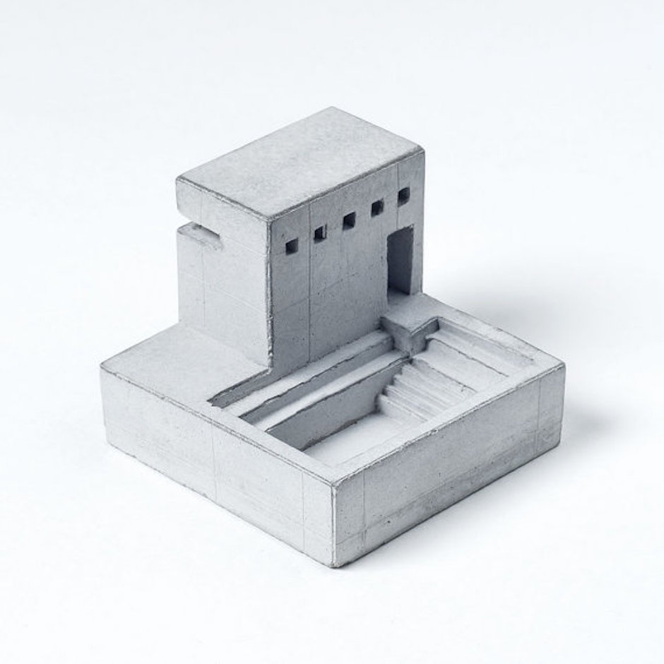 Miniature Concrete Home 5