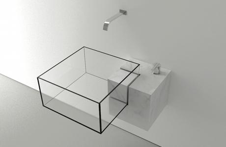 Invisible Bathroom Sink By Victor Vasilev