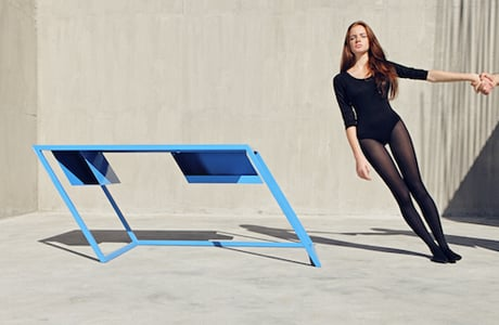Vibrant Tilted Furniture By XYZ Architecture