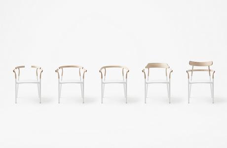 Minimal 5-in-1 Chair By Japanese Design Studio Nendo