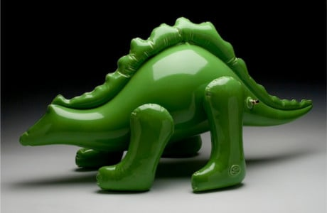 Brett Kern Creates Ceramic Sculptures That Look Like Inflatable Toys