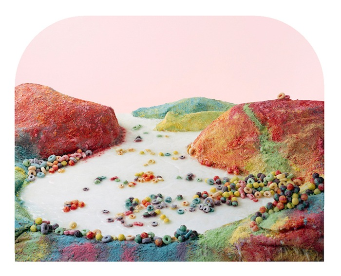 Fruit Loops Landscape from the series, Processed Views: Surveying the Industrial Landscape