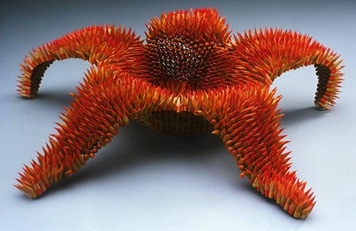 Impressive Pencil Sculptures By Jennifer Maestre