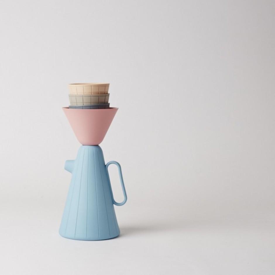 Pastel Coffee Service
