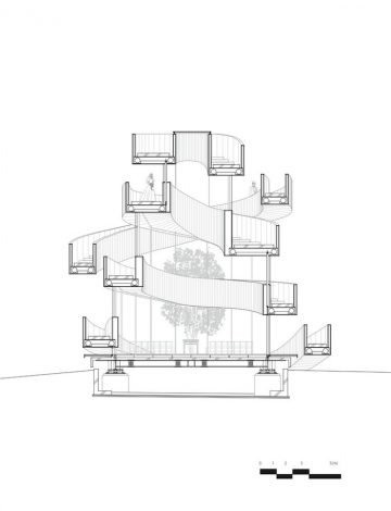 Ribbon Building_Architecture_Plan