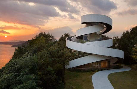 A Spiralling Ribbon Chapel By Hiroshi Nakamura & NAP Co.
