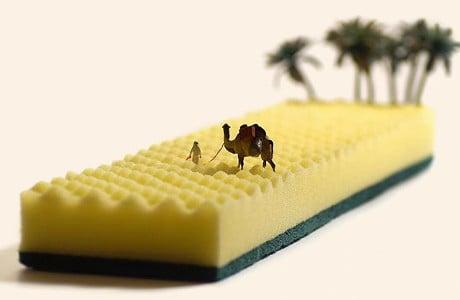 Tatsuya Tanaka Creates Playful Miniature Scenes Everyday