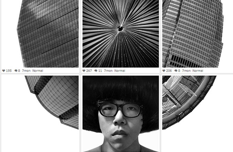 Surreal Black And White Instagram Collages