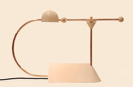 Elegant Sculptural Lamps By Odd Matter