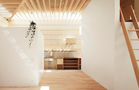 A Minimal Wooden House Filled With Natural Sunlight By mA-Style Architects