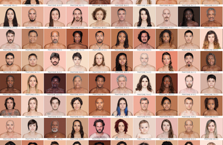 Photographer Angelica Dass Matches Skin Tones With Pantone Colors
