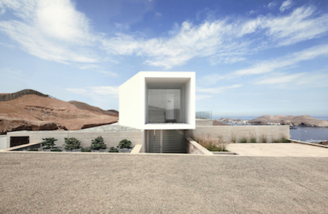 A Concrete Home On A Cliff In Peru By Domenack Arquitectos
