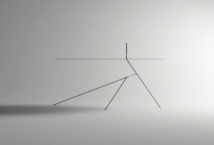 A Skinny Table By Designer Seung Jun Jong