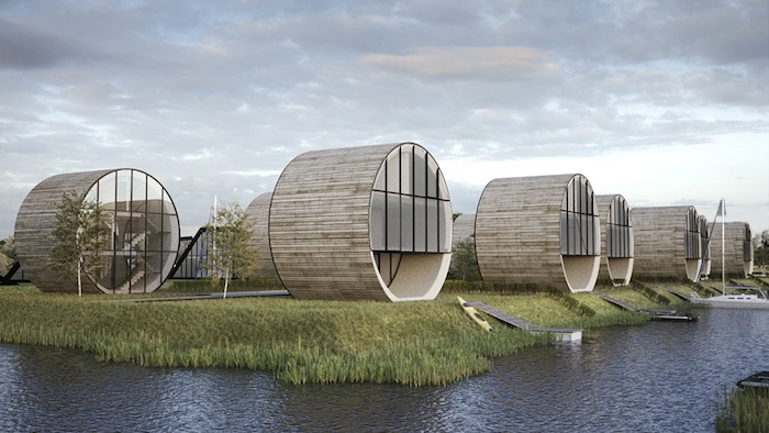 futuristic rolling homes by do architects ignant com