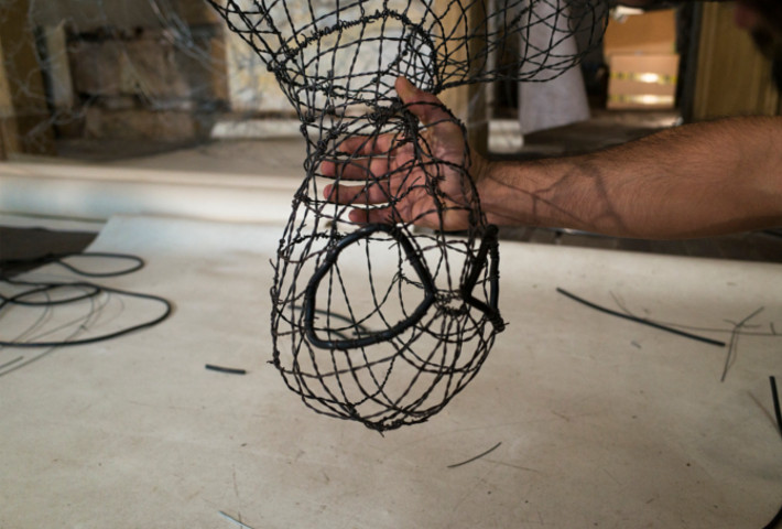 Intricate Wire Sculptures By David Oliveira