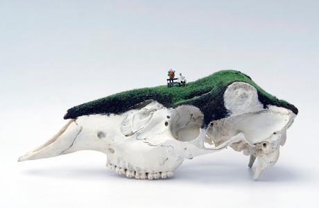 Subversive Miniature Landscapes By Jesse Bromm