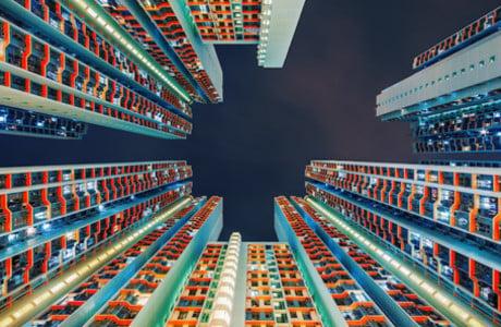 Mesmerizing Skyscrapers In Hong Kong By Peter Stewart