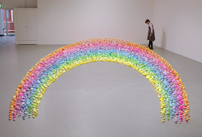 Psychedelic Candy Installations By Pip & Pop