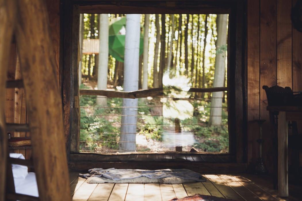 treehouse hotels robin s nest. Black Bedroom Furniture Sets. Home Design Ideas
