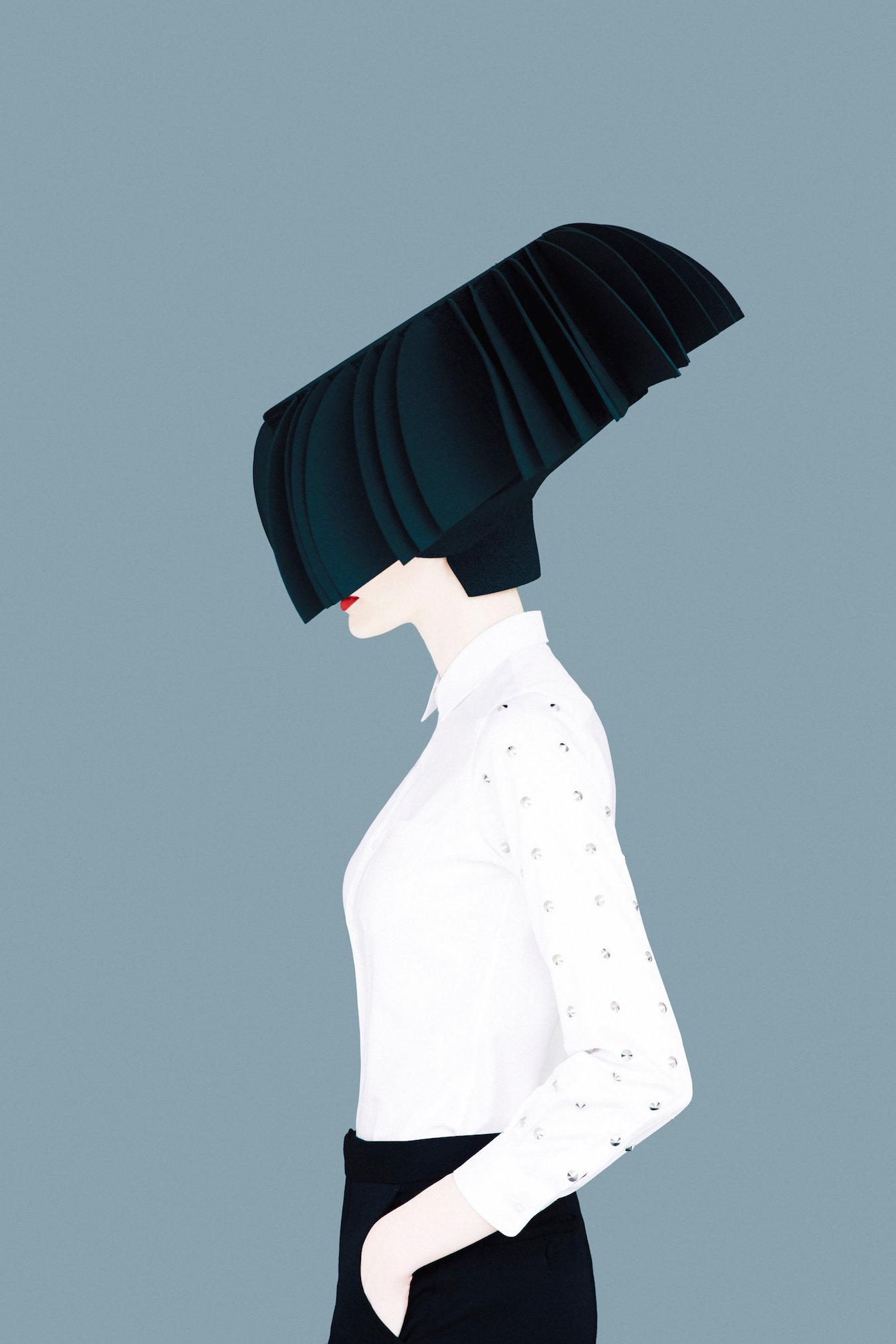 Striking Fashion Portraits By Erik Madigan Heck Ignant Com
