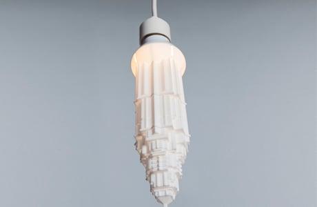 Lightbulbs In The Shape Of Skyscrapers By David Graas