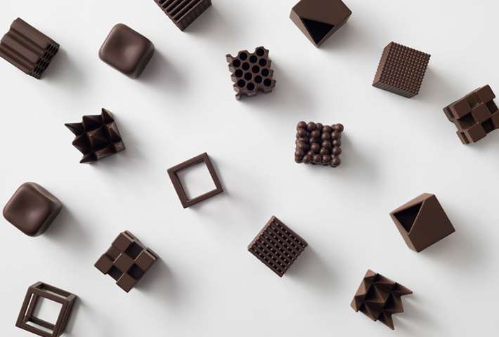 Chocolates That Illustrate Japanese Words By Design Studio Nendo