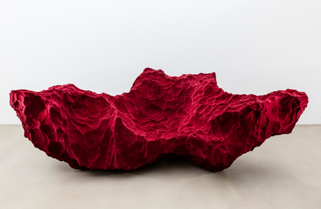 A Sofa In The Shape Of A Rock By Fredrikson Stallard