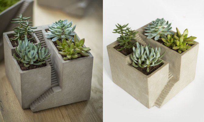 Architecture Cement Planter_1
