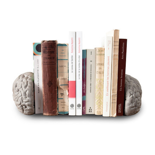 "Bookend ""Concrete Brain"""