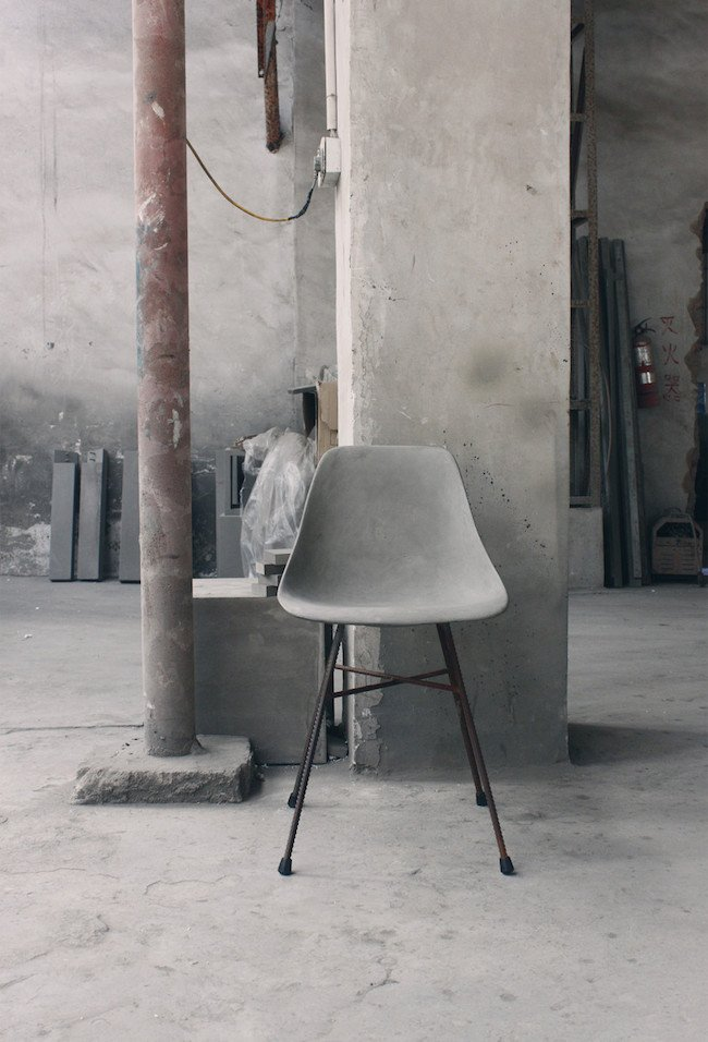 D'Hauteville Concrete Chair