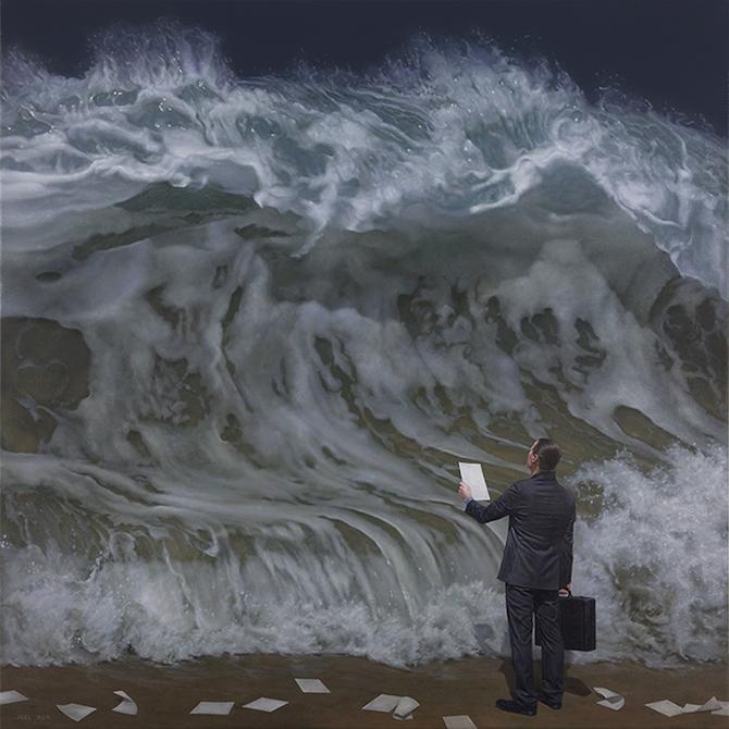 Hyperreal Paintings Of Nature By Joel Rea