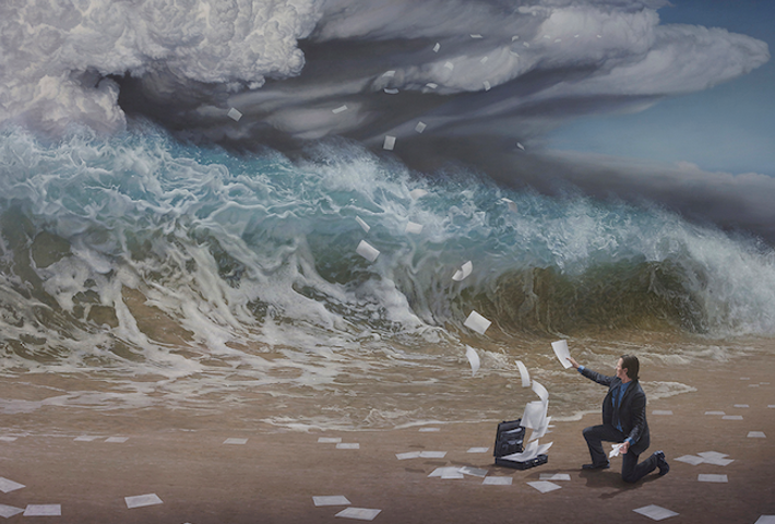 Hyperreal Paintings Of Nature By Joel Rea