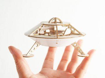Miniature Space Ship