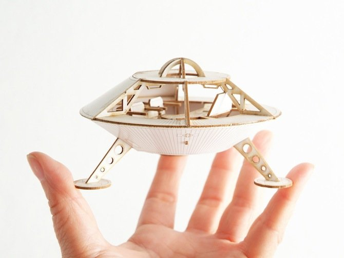 Miniature Space Ship
