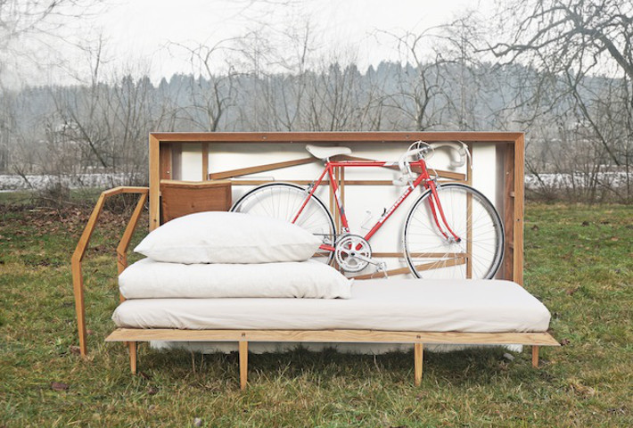 A Portable Room-In-A-Box By Juust Design