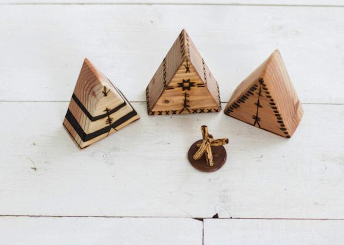 Wooden Tipis