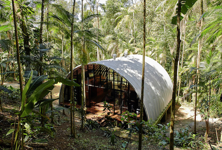 A Remote Residence In A Brazilian Forest By Atelier Marko Brajovic