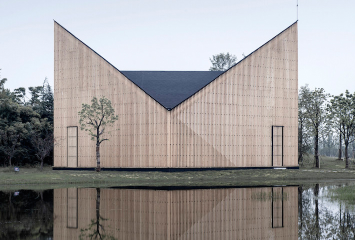 The Garden Chapel By AZL Architects