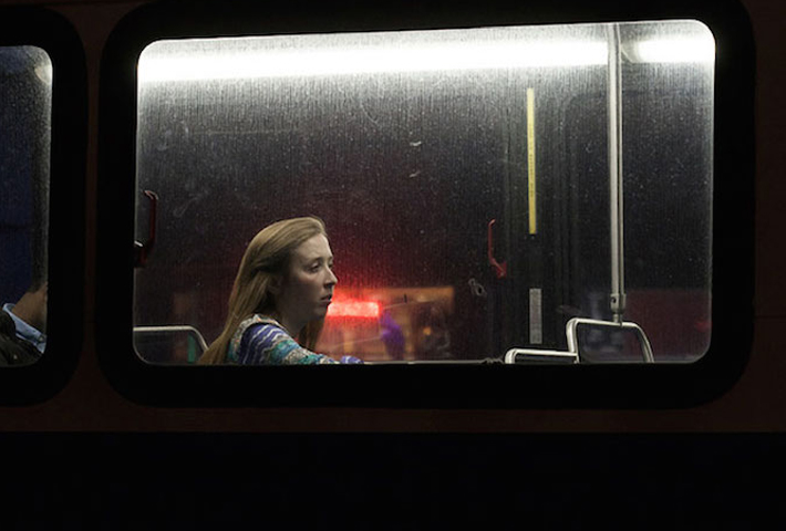 Photographer Travis Huggett Captures Commuters On The Bus