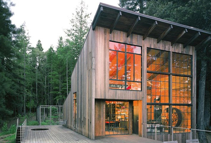 A Modern Cabin In The Californian Redwoods By Lundberg Design