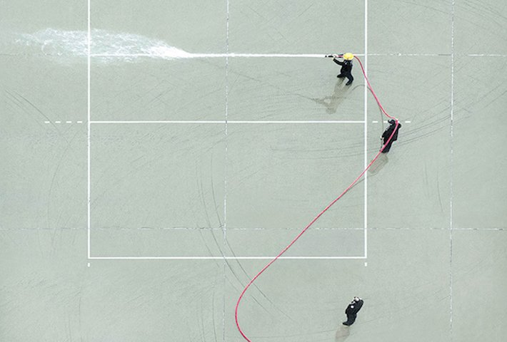 Daily Life Of Firemen From Above Captured By Chan Dick