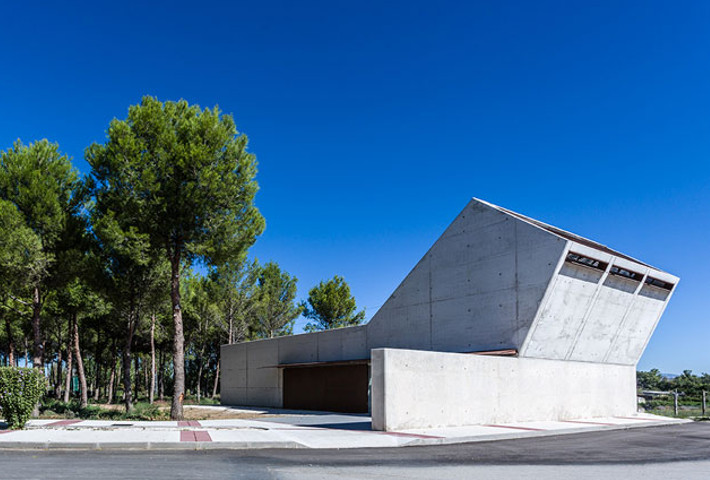 A Geometric Morgue By Juan Carlos Salas