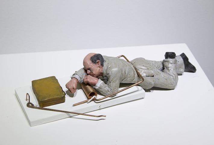 Subversive Miniature Artworks By Artist Isaac Cordal
