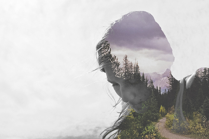 Nature Double Color Exposure