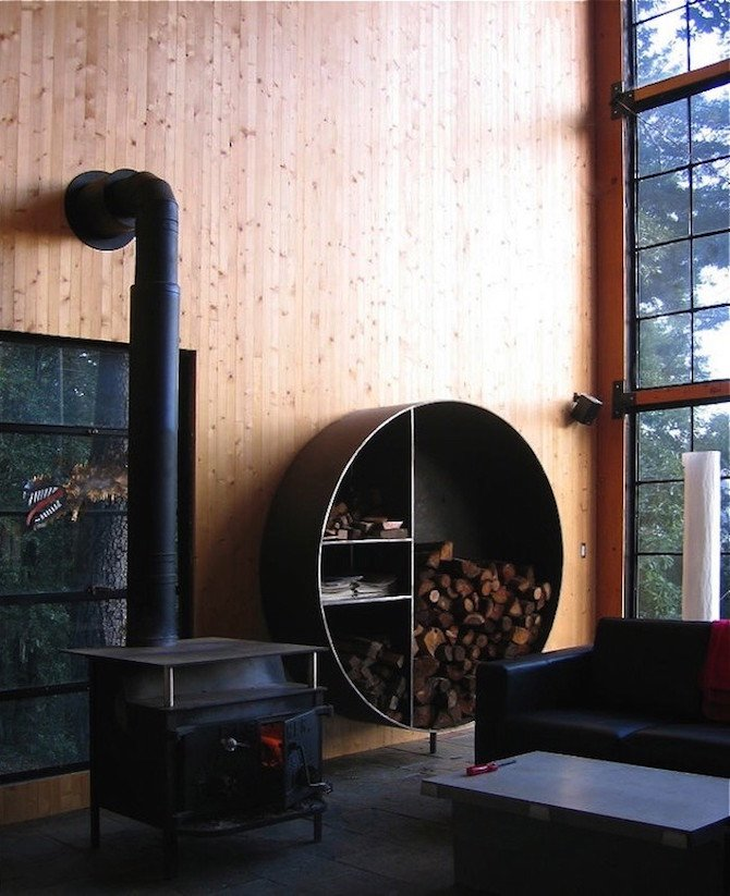A Modern Cabin In The Californian Redwoods By Lundberg ...