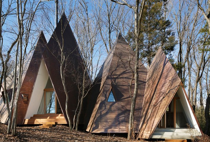 A Tipi-Shaped House In The Woods By NAP Architects