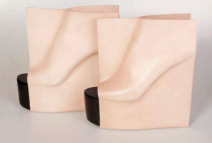 Rectangular-Shaped Shoes By Maria Nina Vaclavek