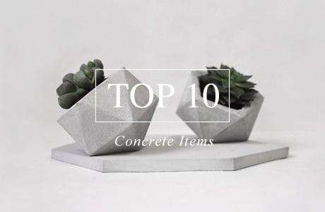 Top 10 Concrete Items For Your Home