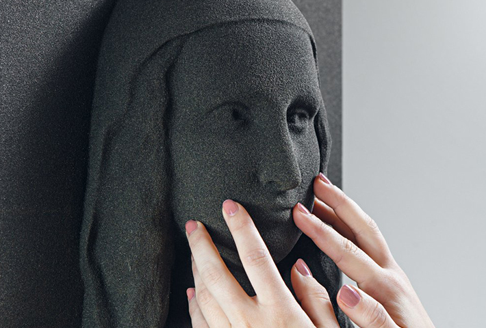 3D-Printed Classical Paintings By Unseen Art Project